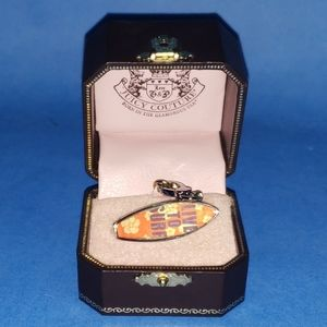 Juicy Couture Surfboard Charm w/ Box